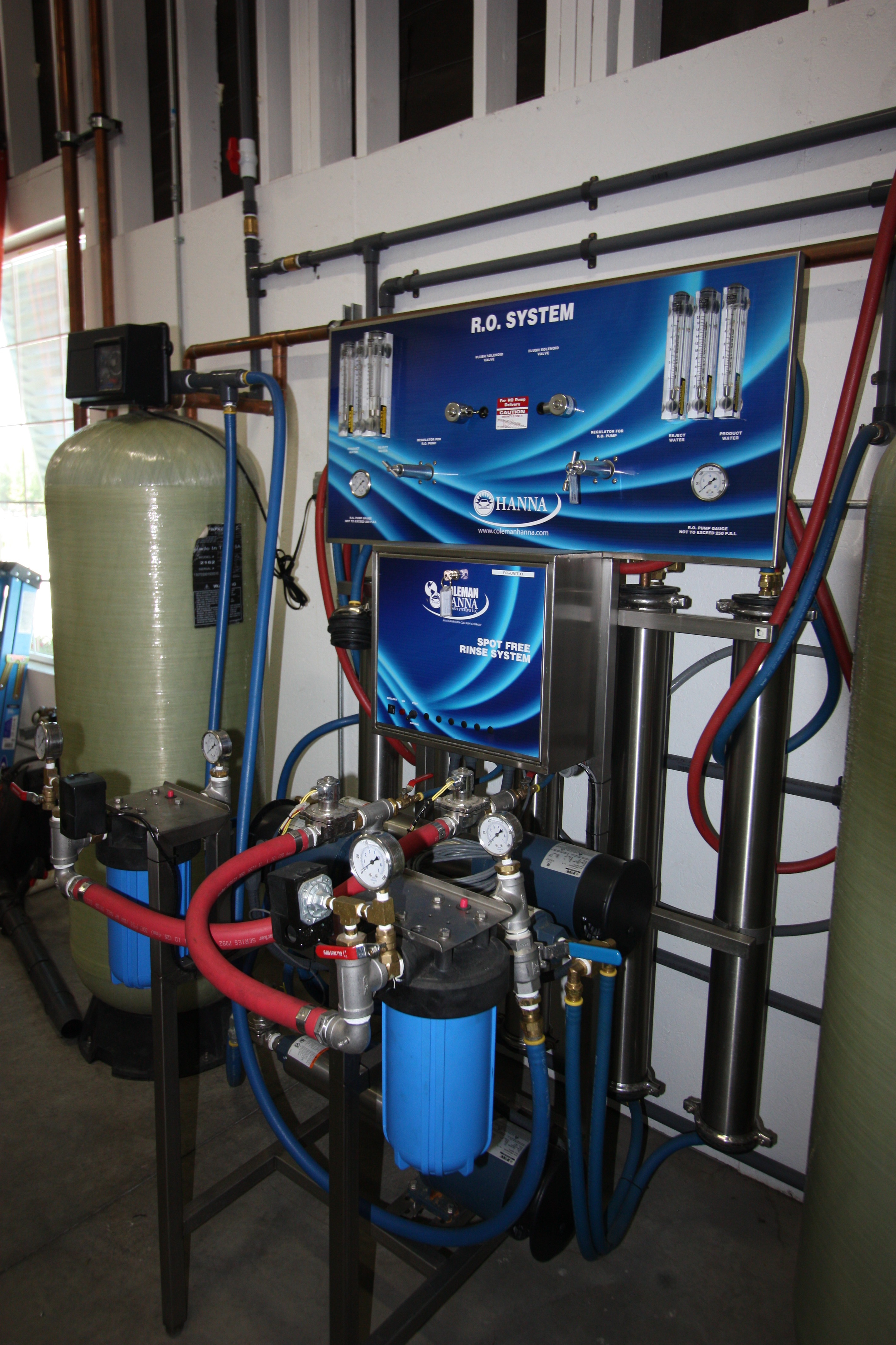 Spot-Free Reverse Osmosis System