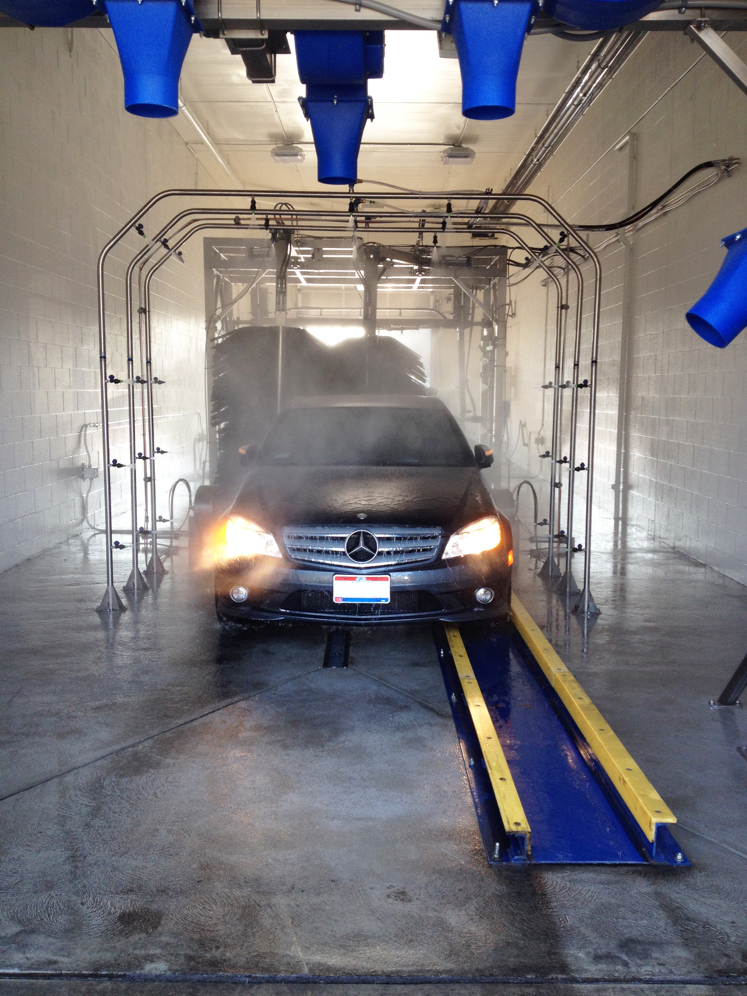 Drive Thru Tunnel Systems No Conveyor Perfect For Auto