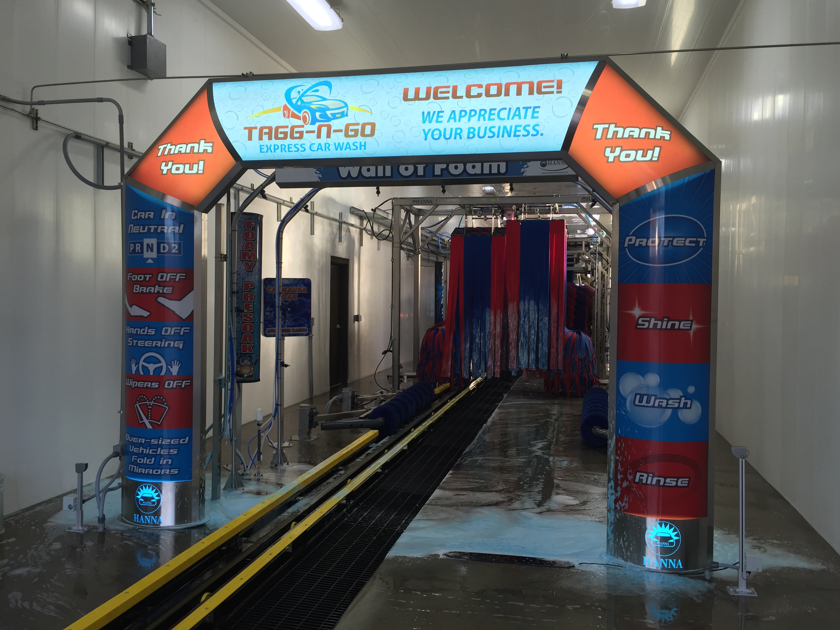 Express Amp Full Service Tunnels Coleman Hanna Carwash Systems