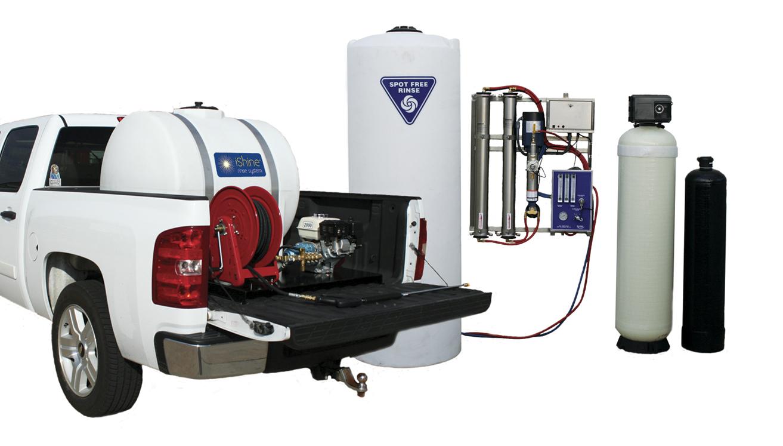 iShine Spot Free Rinse System Equipment