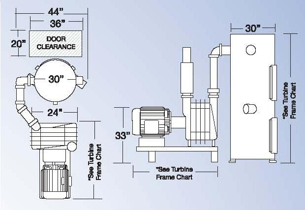 Standard Central Vacuum System Drawing