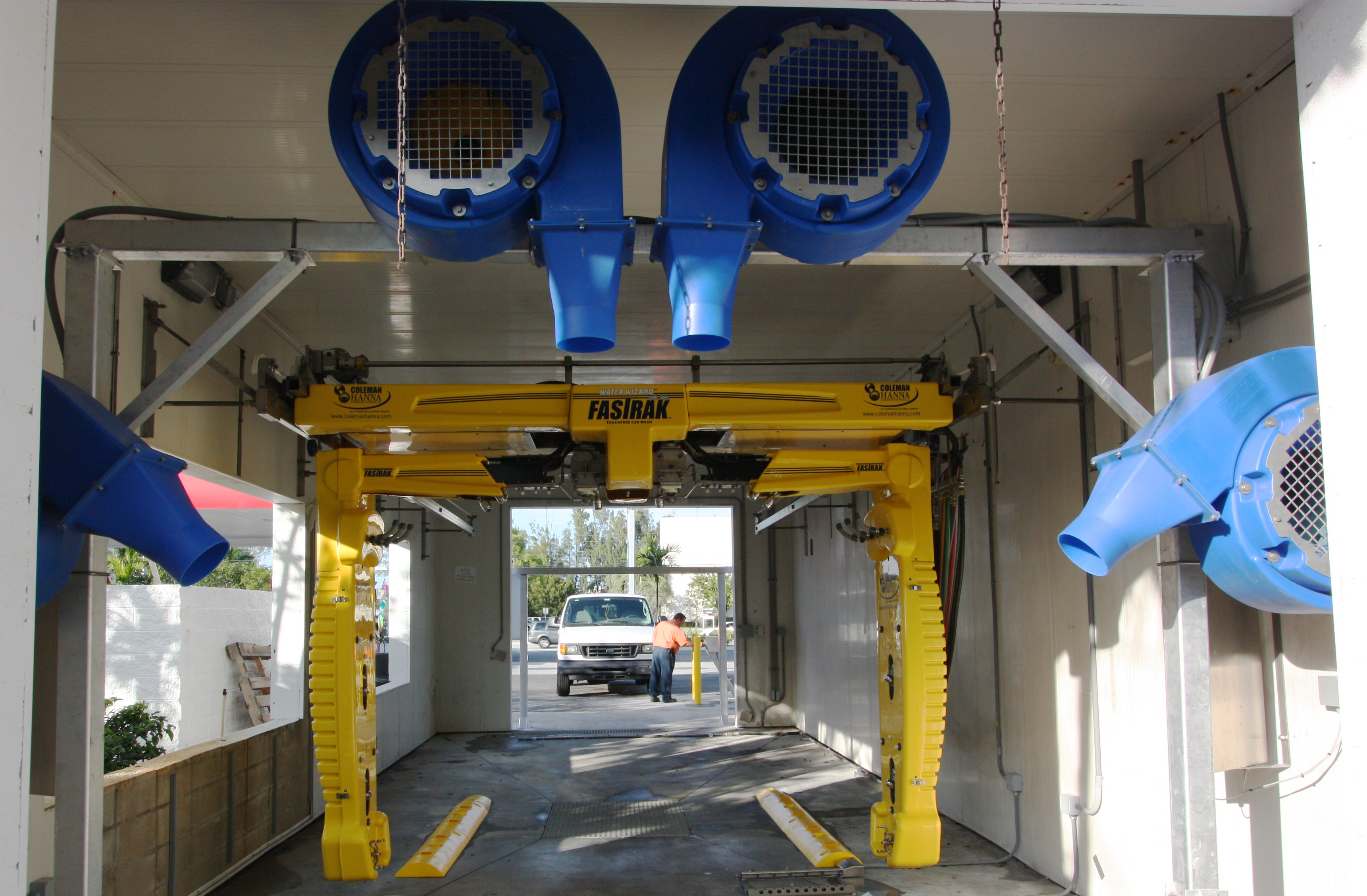 Car Wash Support Equipment