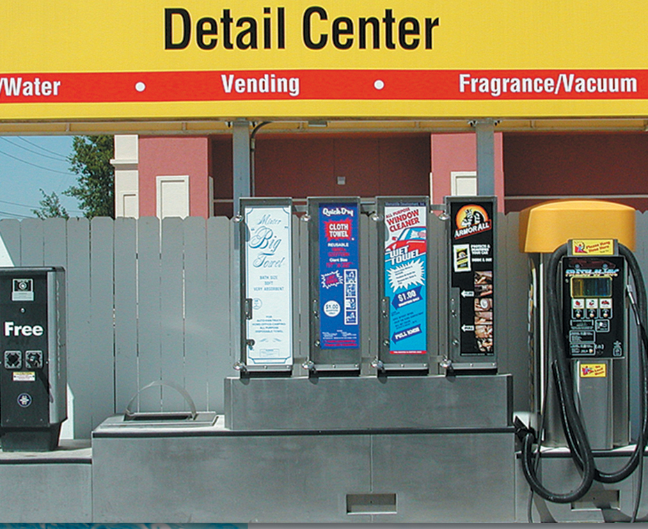 Self serve Car wash system