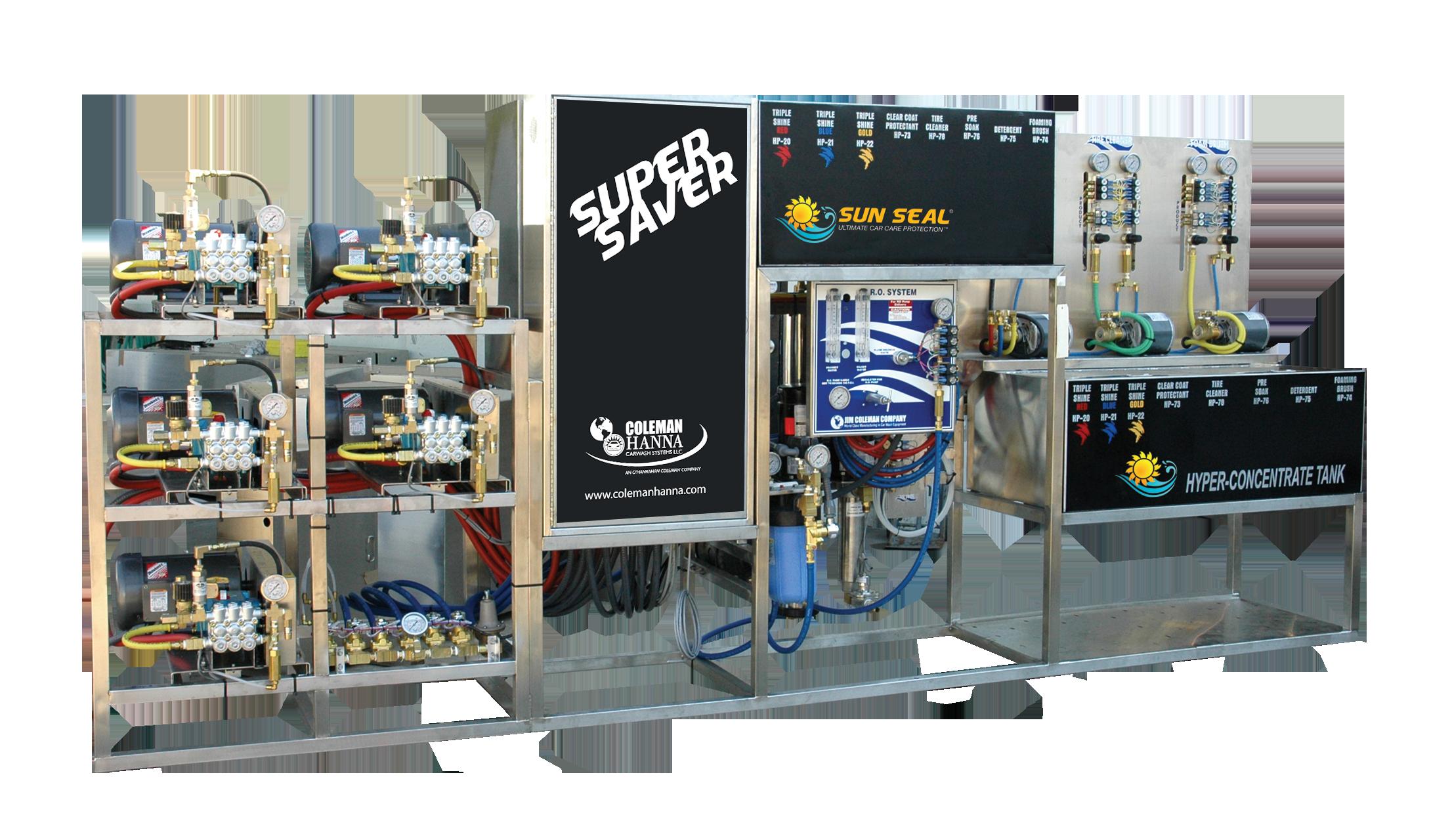 Super Saver Self Serve Pumping Equipment