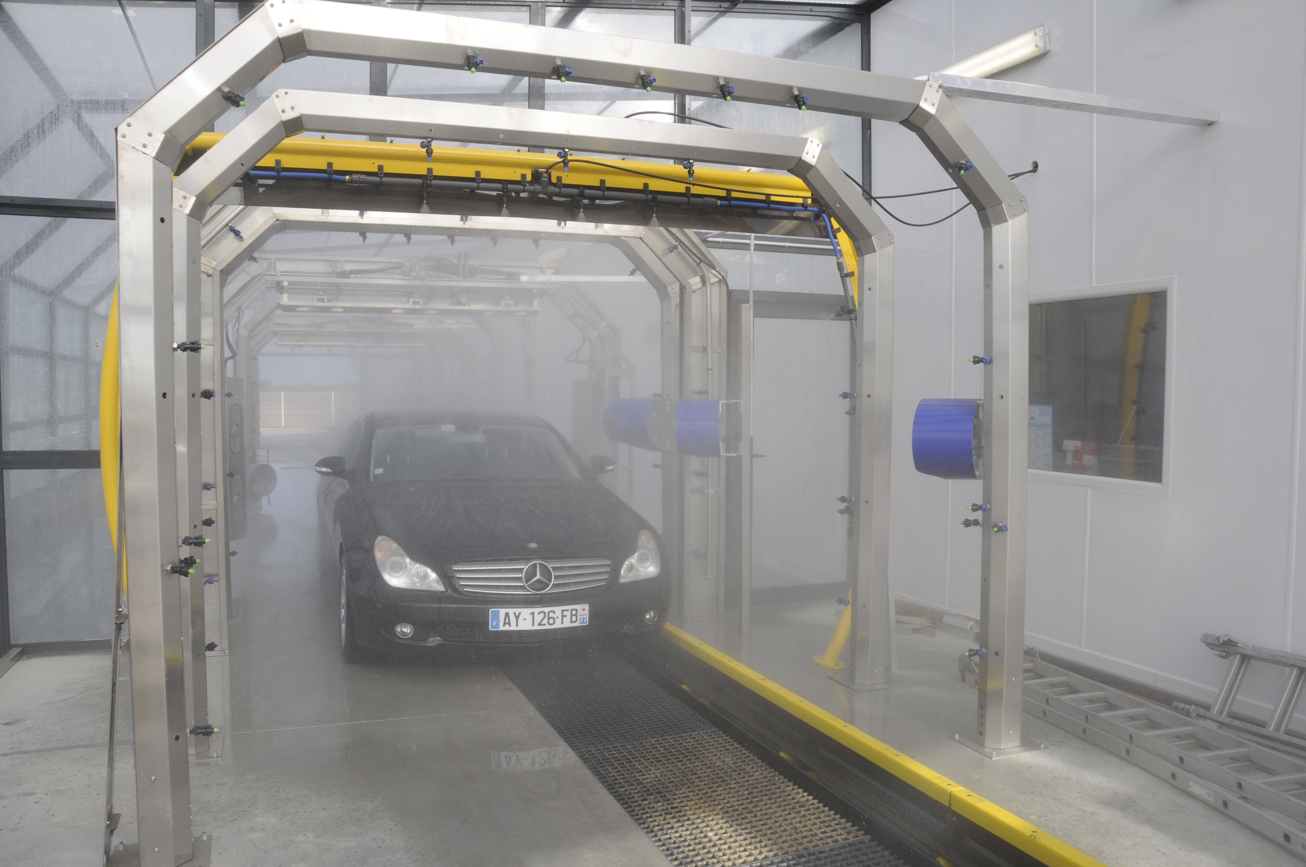 Touchless Systems Coleman Hanna Carwash Systems