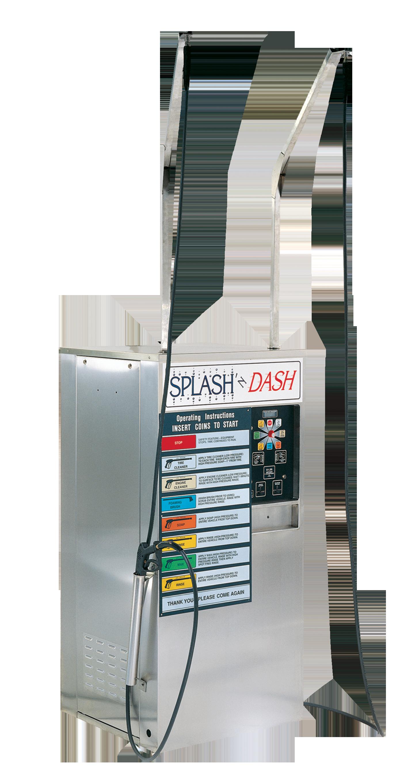 Splash And Dash Car Wash >> Splash N Dash Coleman Hanna Carwash Systems