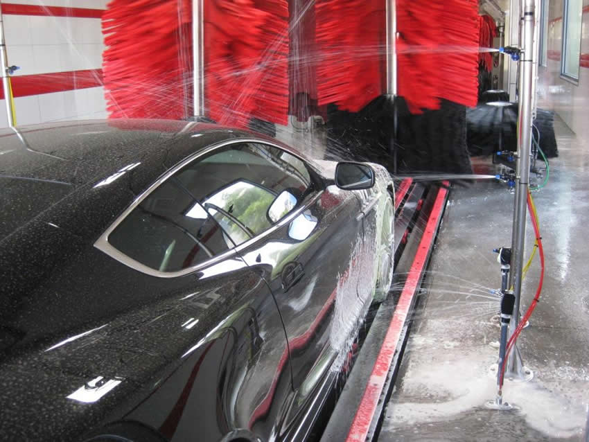 Car Wash Presoak Arch