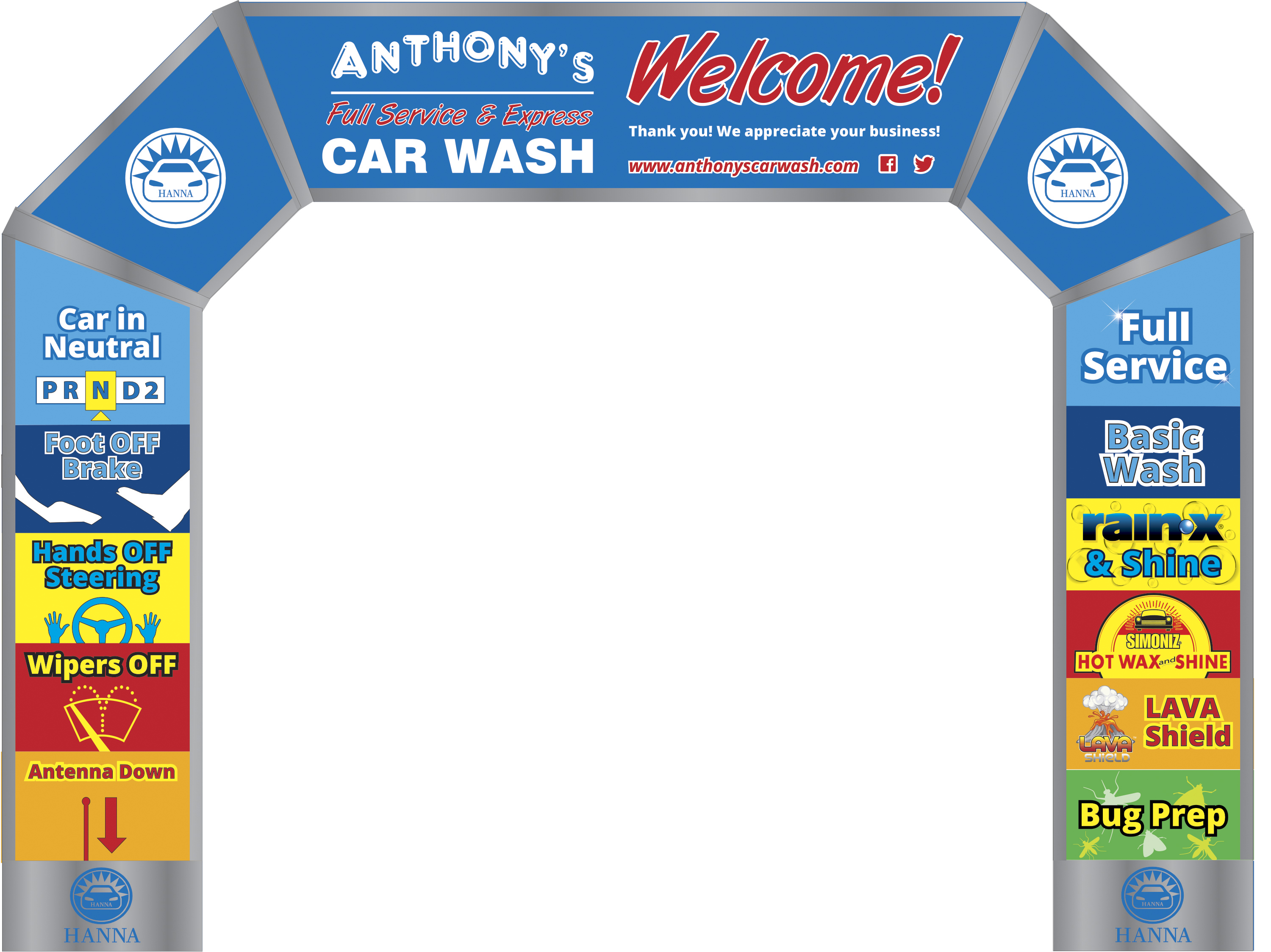Car Wash Digital Signage