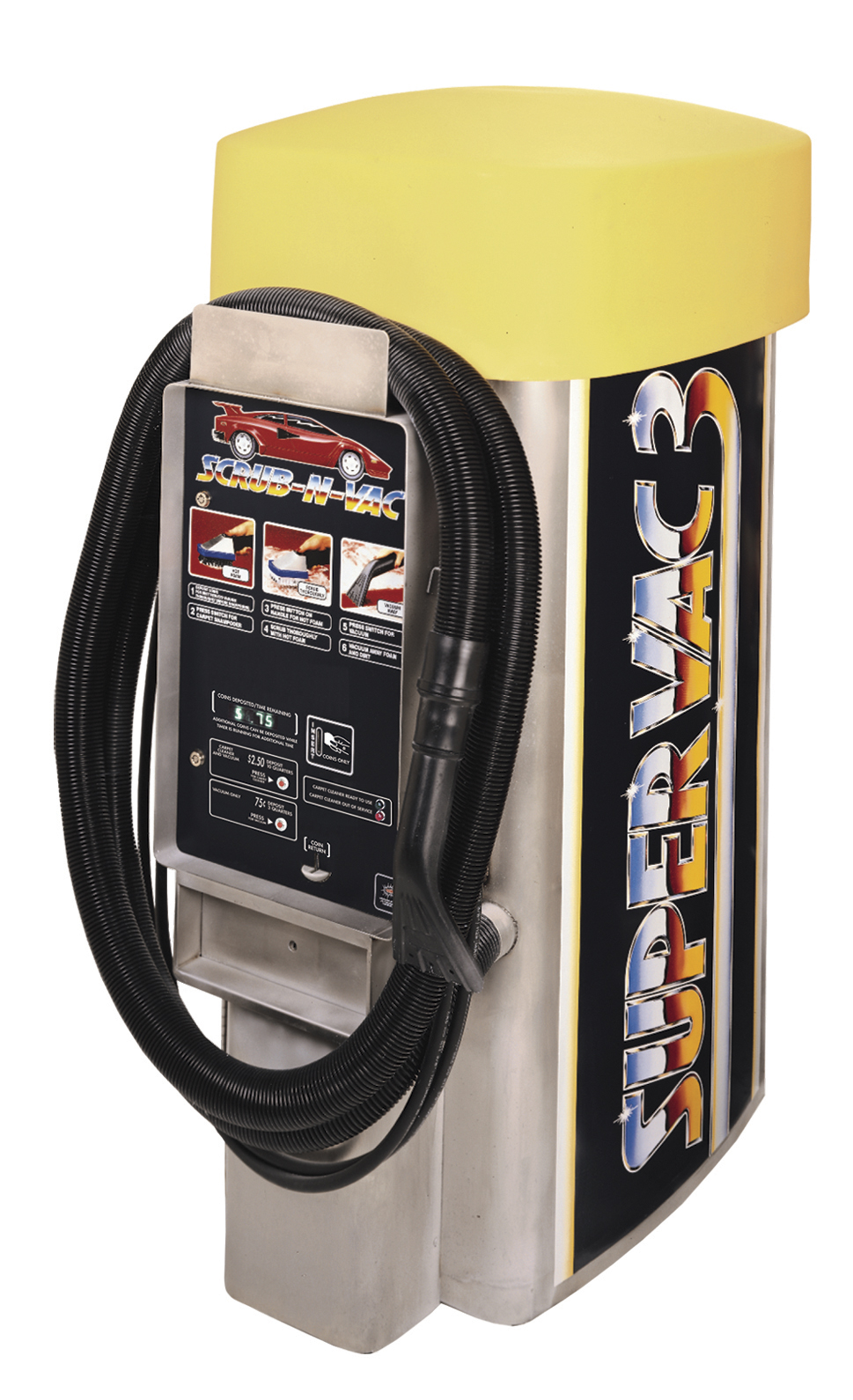 Vacuums – Coleman Hanna Carwash Systems
