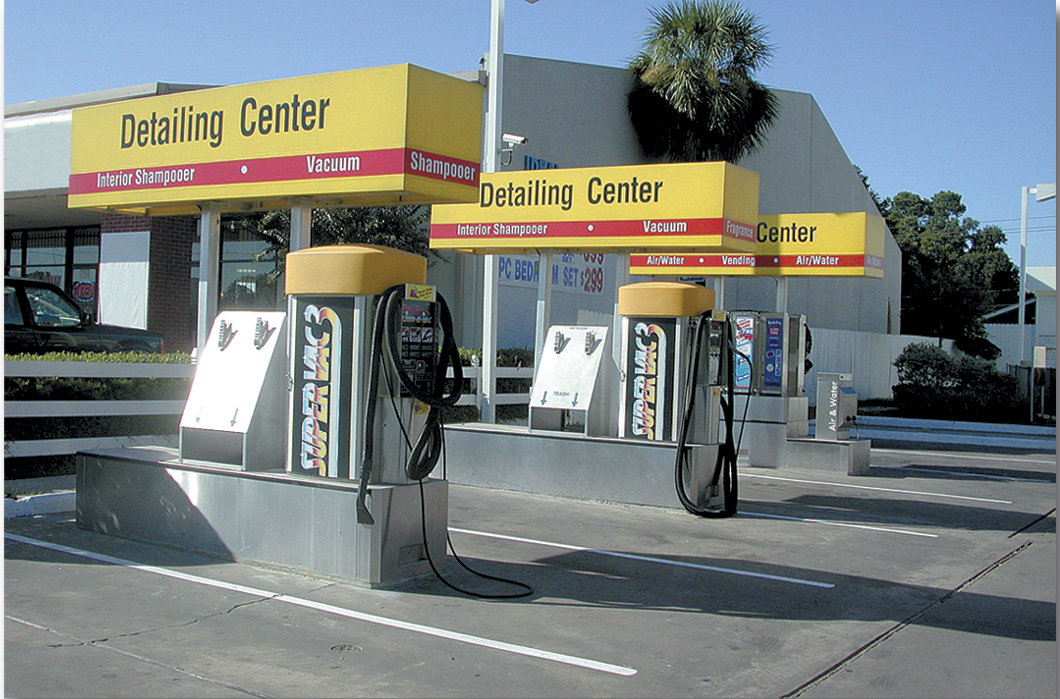 Self Serve Support Equipment Coleman Hanna Carwash Systems