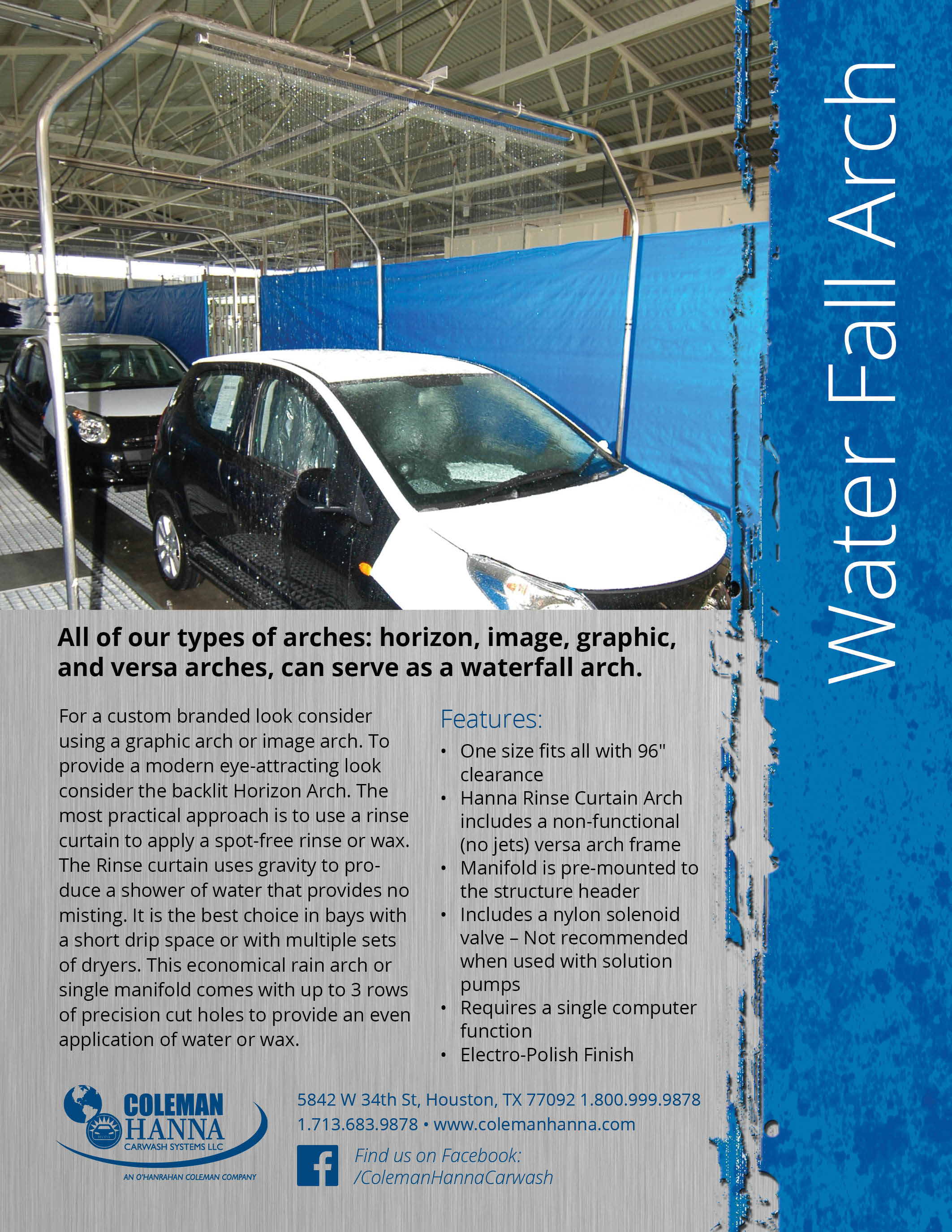 Application Arches – Coleman Hanna Carwash Systems
