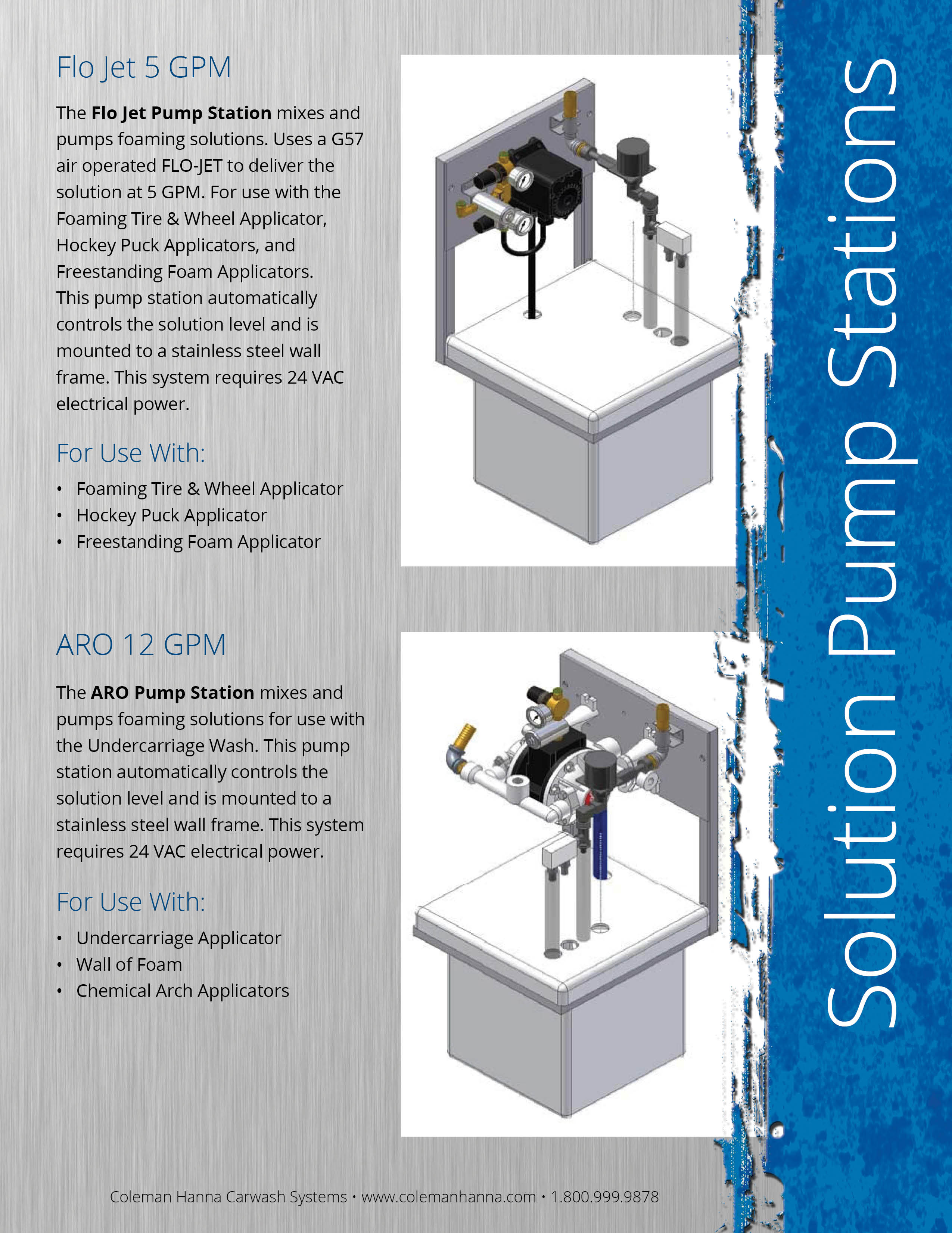 Solution Pump Stations