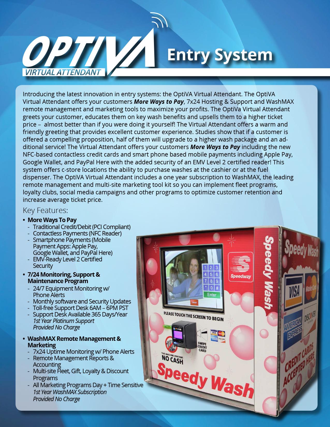 OptivaVirtualAttendantEntrySystem