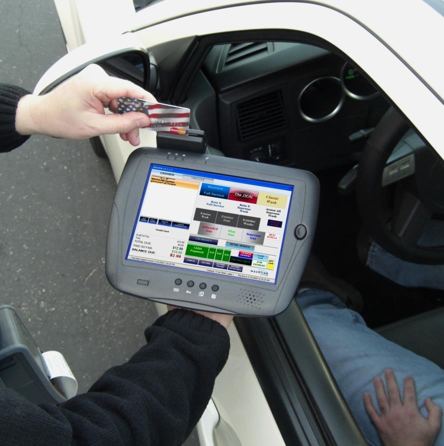 Voyager Handheld Terminal