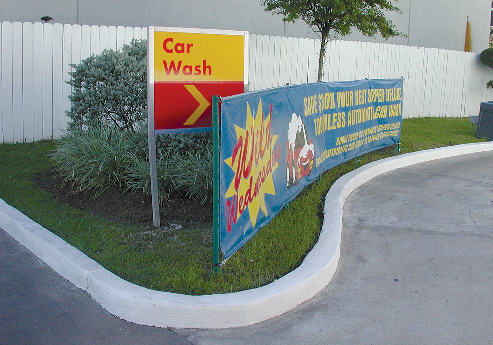 Self Serve Signs Coleman Hanna Carwash Systems