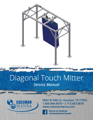diagonal touch mitter