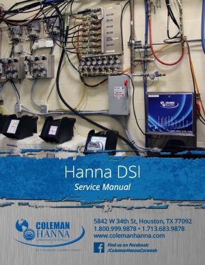 Technical Manuals – Coleman Hanna Carwash SystemsColeman Hanna