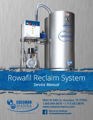 Rowafil Reclaim Manual