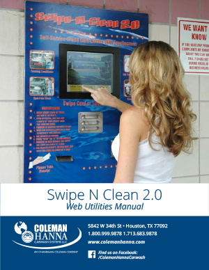 Swipe N Clean 2.0 Web Utilities