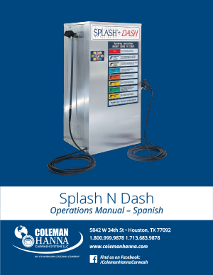 Splash N Dash Spanish
