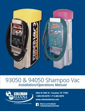 93050-94050 Shampoo Vac