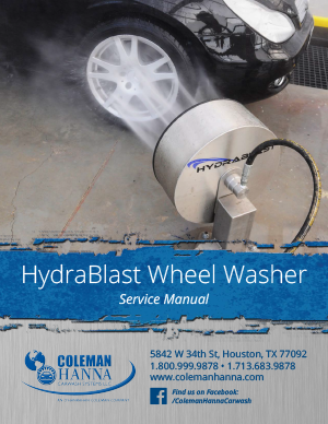 HydraBlast Wheel Washer