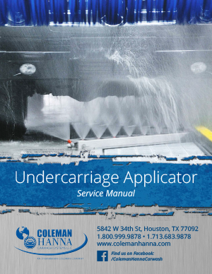 Undercarriage Applicator