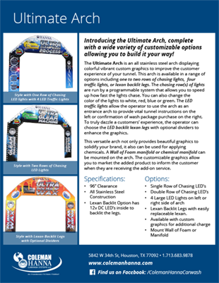 Entrance Arches – Coleman Hanna Carwash Systems