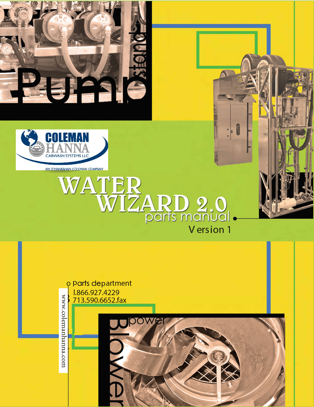 Water Wizard 1 Parts