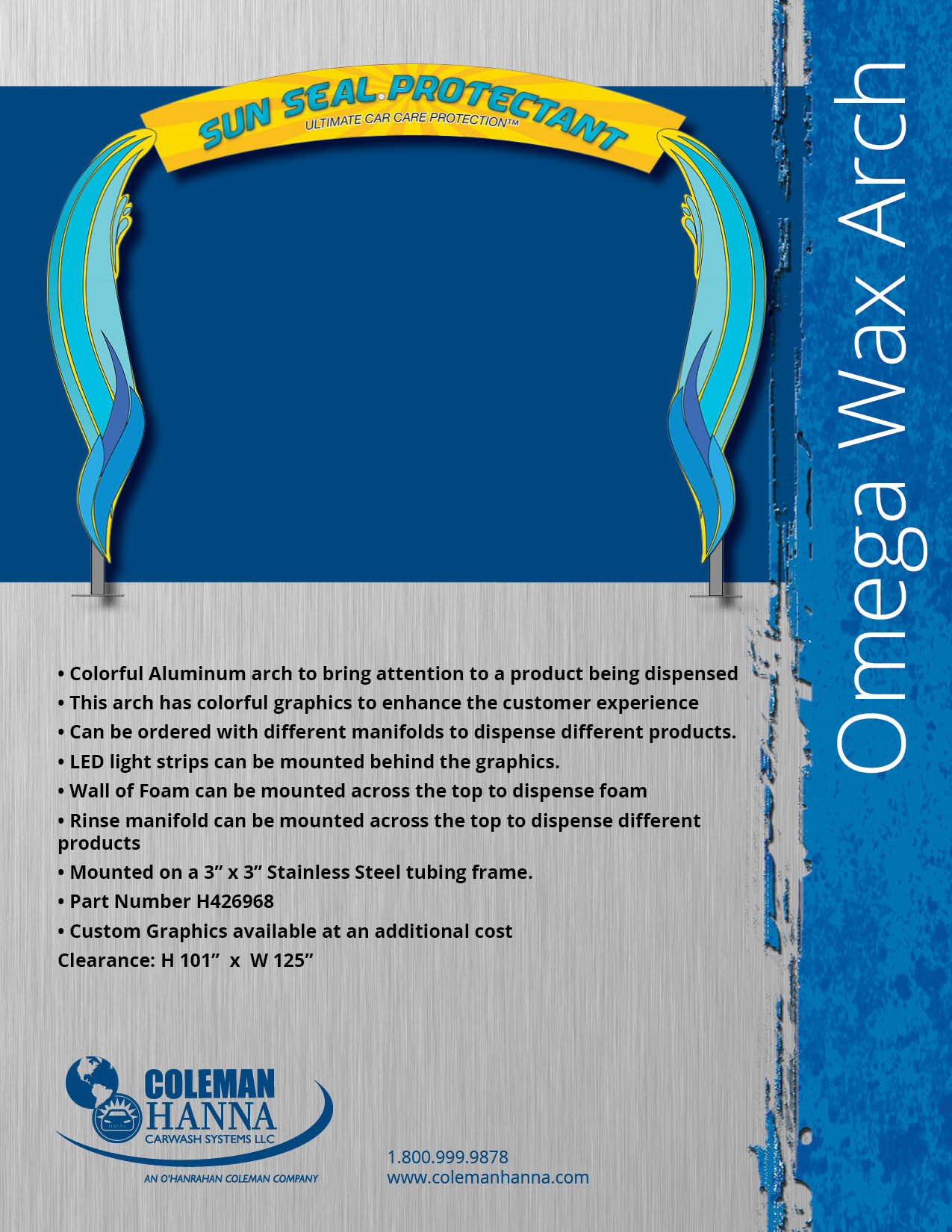 Omega Wax Arch