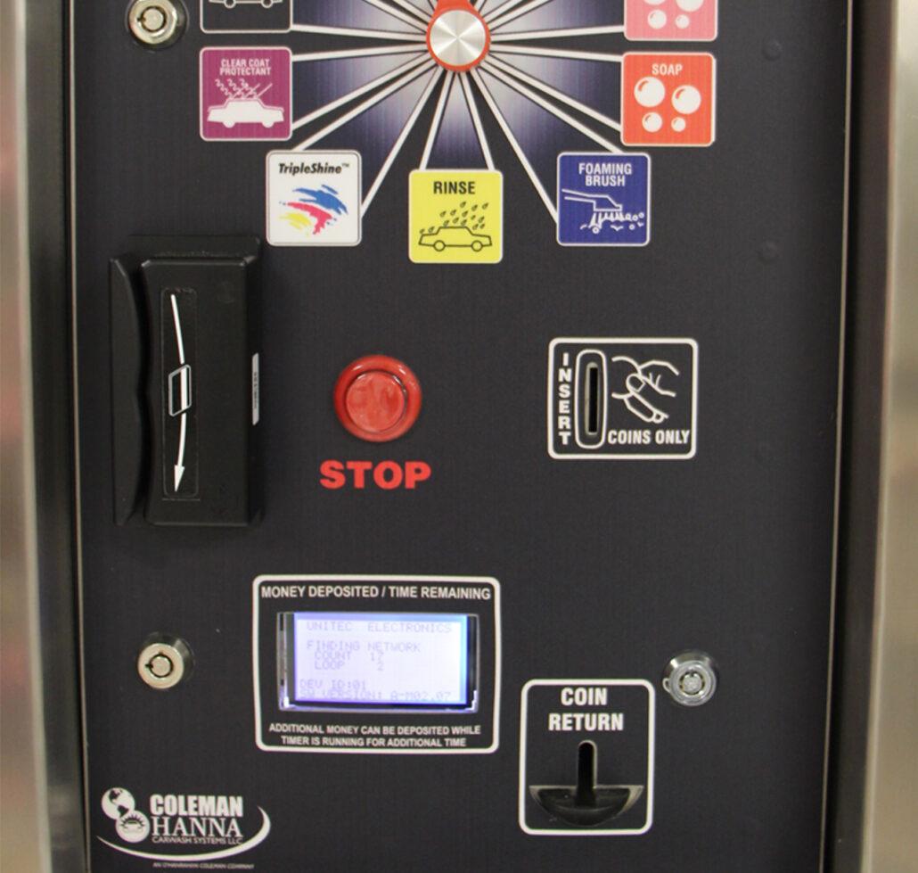 Unitec Wash Pay System